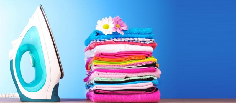 Limpeza de residência particular e passar a ferro a roupa da família